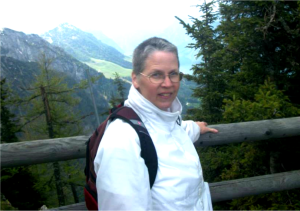 Dr. Ginny Lewis in Berchtesgaden in 2014.  Photo: Dr. Lewis Facebook Profile