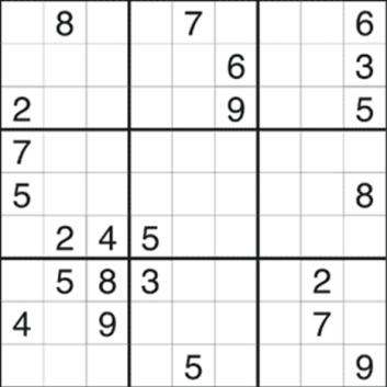 sudoku med