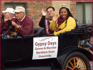 Gypsy Days Queen & Marshal