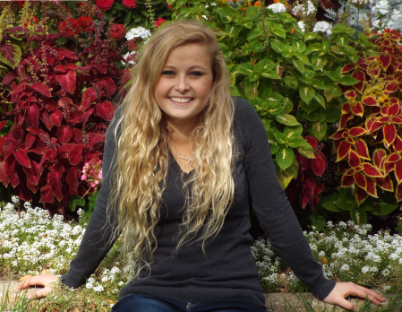 NSU Sophomore Hannah Higdon. Photo credit: Kyla Schuster.